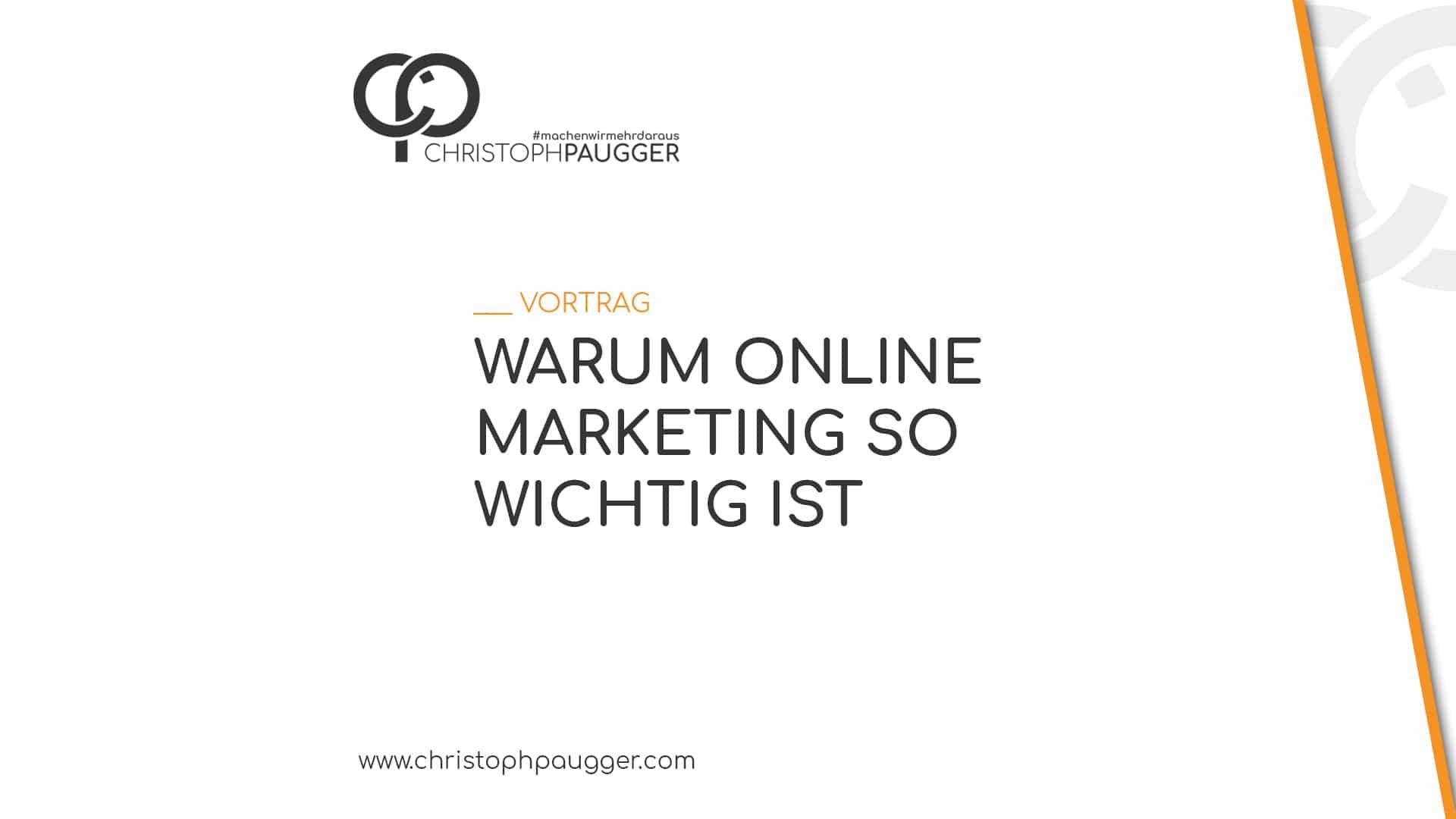 Votrag Online Marketing